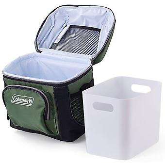 Coleman Soft Cooler 9 cans (Removable Rigid Trough), 7.5 L. (Garden , Camping , Kitchen)