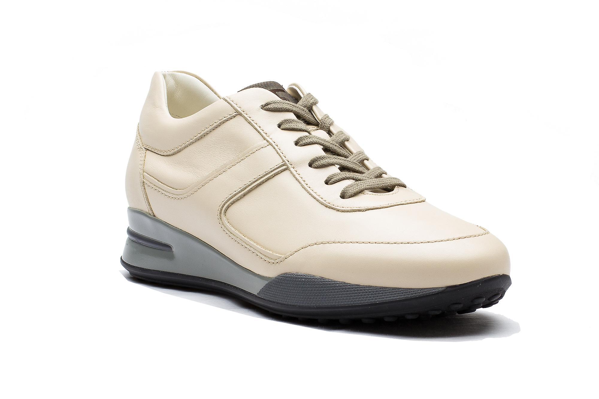 Tods Herren Leder Allacciato Sport T Projekt Low Top Sneaker Schuhe weiß