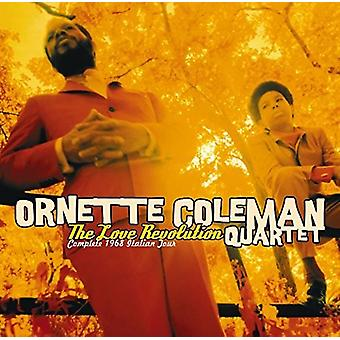 オーネット ・ コールマン - 愛革命: 完全な 1968 イタリア ツアー [CD] USA 輸入