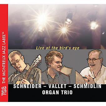 Schneider / Vallet / Schmidlin orgel Trio - Live på fuglens øje [CD] USA import