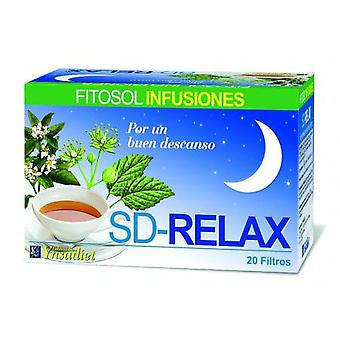 Ynsadiet Relax relaxing Sd 20 filters (Herbalist's , Infusions)
