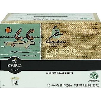 Caribou koffie Caribou Blend Keurig K-Cups 12 Cup vak