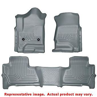 Husky Liners 99212 Grey WeatherBeater Front & 2nd Seat  FITS:CHEVROLET 2015 - 2