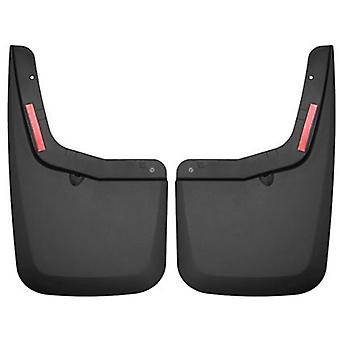 Husky Liners Mud Guards - Custom Molded 59451 Black Rear Fits:FORD 2015 - 2015