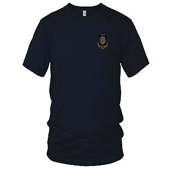 USAF Airforce - AFSOC 1000 Hours Tab OD Embroidered Patch - Mens T Shirt