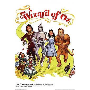 Mago de Oz - Retro cartel 2 Poster Print