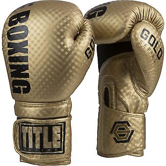 Title Boxing Gold Series Stimulate Hook and Loop Boxing Gloves