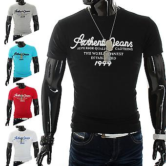 Men's short sleeve T-Shirt Polo stretch slim fit clubwear shirt authentic roots