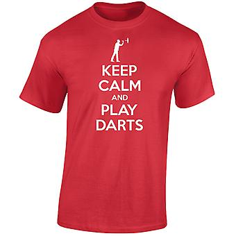 Keep Calm And Play Darts Kids Unisex T-Shirt 8 Colours (XS-XL) by swagwear