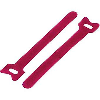 Hook-and-loop cable tie for bundling Hook and loop pad (L x W) 150 mm x 12 mm