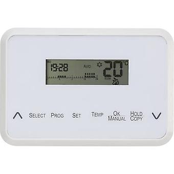 Basetech TS108 Indoor thermostat Surface-mount 7 day mode 5 up to 30 °C