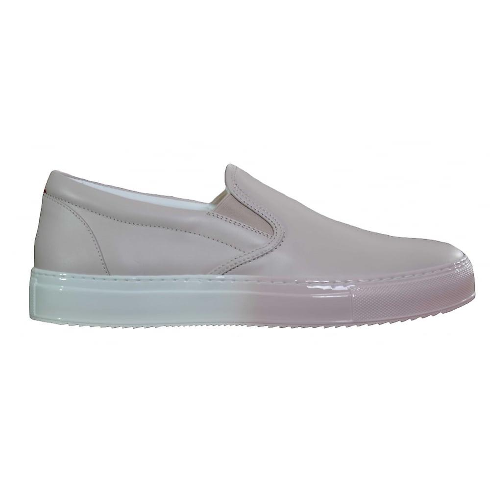 Hugo Boss Footwear Hugo Boss Womens Pink Grenwich Slip On Trainers