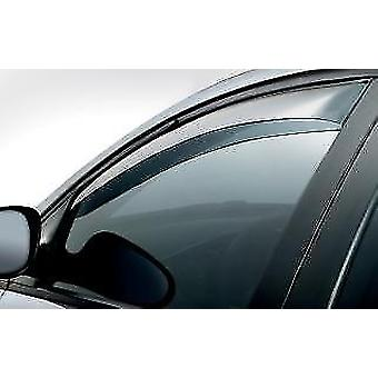 Front Wind Deflectors for Fiat Marea/Weekend 1996-2007 Tinted