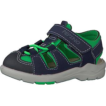 Ricosta Pepino Boys Gery Sandals Blue Green