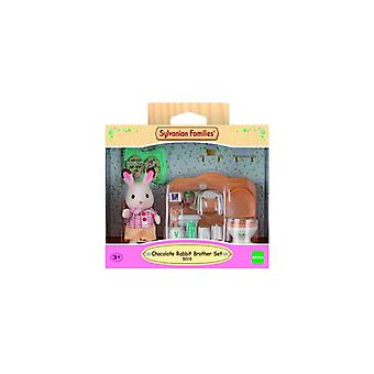 SF Chocolate Rabbit The Brother Set-Washroom-