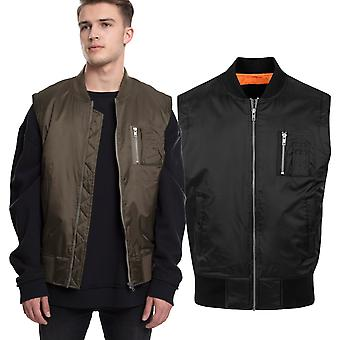 Urban Classics - SHINY BOMBER Outdoor Army Weste