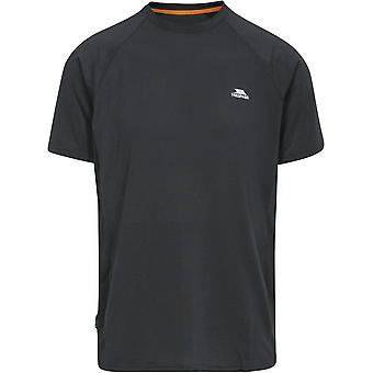 Trespass Mens Cacama Short Sleeve Wicking Fitness Running T-Shirt