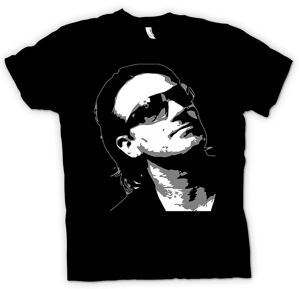 Kids T-shirt - Bono U2 - BW