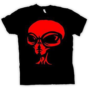 Womens T-shirt - UFO - Alien  Head