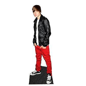 Justin Beiber Leather Jacket Lifesize Cardboard Cutout