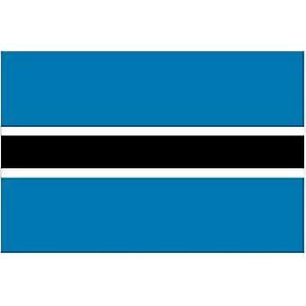 Botswana Flag 5ft x 3ft With Eyelets For Hanging