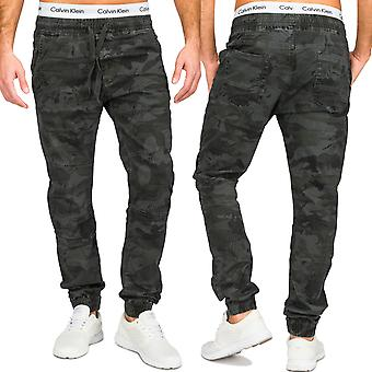 Men's Chino Jeans Trousers 5-Pocket Cotton Cotton Camouflage Camouflage Army Army Slim Fit