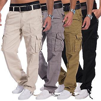 Mens Cargo Pants Loose Fit leisure trousers Military Worktrousers