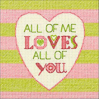Cathy Heck All Of Me Counted Cross Stitch Kit-5