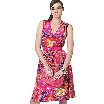 Misses' Dress-E5 (14-16-18-20-22) -*SEWING PATTERN*