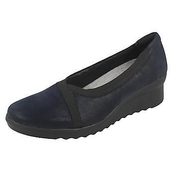 Cuña de mujer Clarks zapatos de tacón Caddell Dash