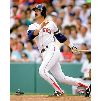Dwight Evans 1972 Action Photo Print