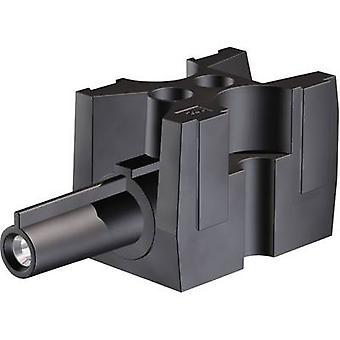 Stäubli 15.0188 Connector clip flexible: -2.5 mm² rigid: -2.5 mm² Number of pins: 1 1 pc(s) Black