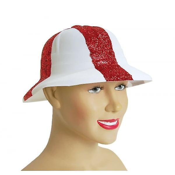 Union Jack Wear St George Cross Fancy Dress Pith Helmet