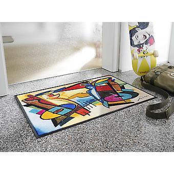 wash + dry festival mood by Alfred Gockel washable floor mat