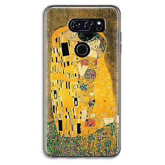 LG V30 Transparent Case - Der Kuss
