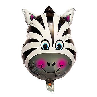 Folieballong Zebra 56 cm