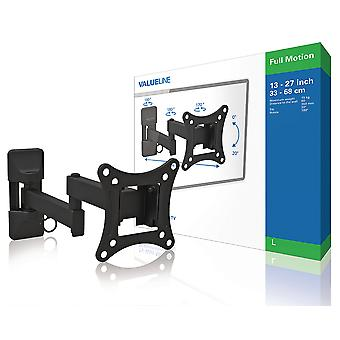 TV wall mount-fully adjustable 13-27