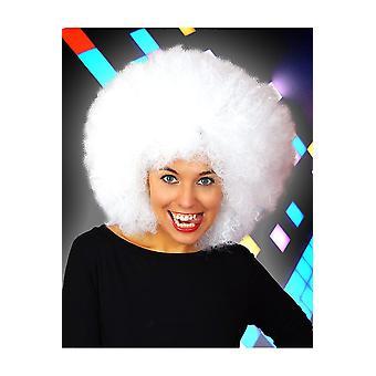Parrucche Afro parrucca bianca