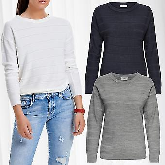JDY Womens Knitted Sweater Pullover JDYPULLI Knit L/S Noos Longsleeve Shirt Only