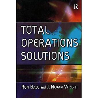 Soluções de operações totais