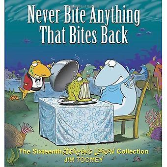 Aldrig bita allt som biter tillbaka: Den sextonde Shermans Lagoon samling