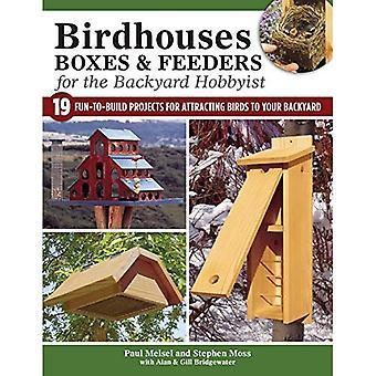 Nestkastjes, vakken & Feeders voor de Hobbyist achtertuin
