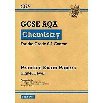 Ny klass 9-1 GCSE kemi AQA praktiken legitimationshandlingar: högre Pack 2