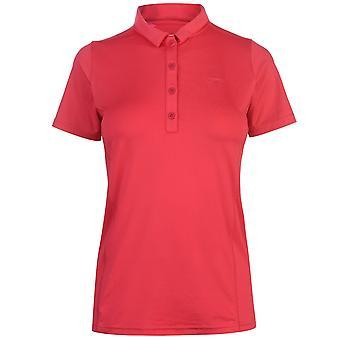 Slazenger Womens plaine chemise Polo dames