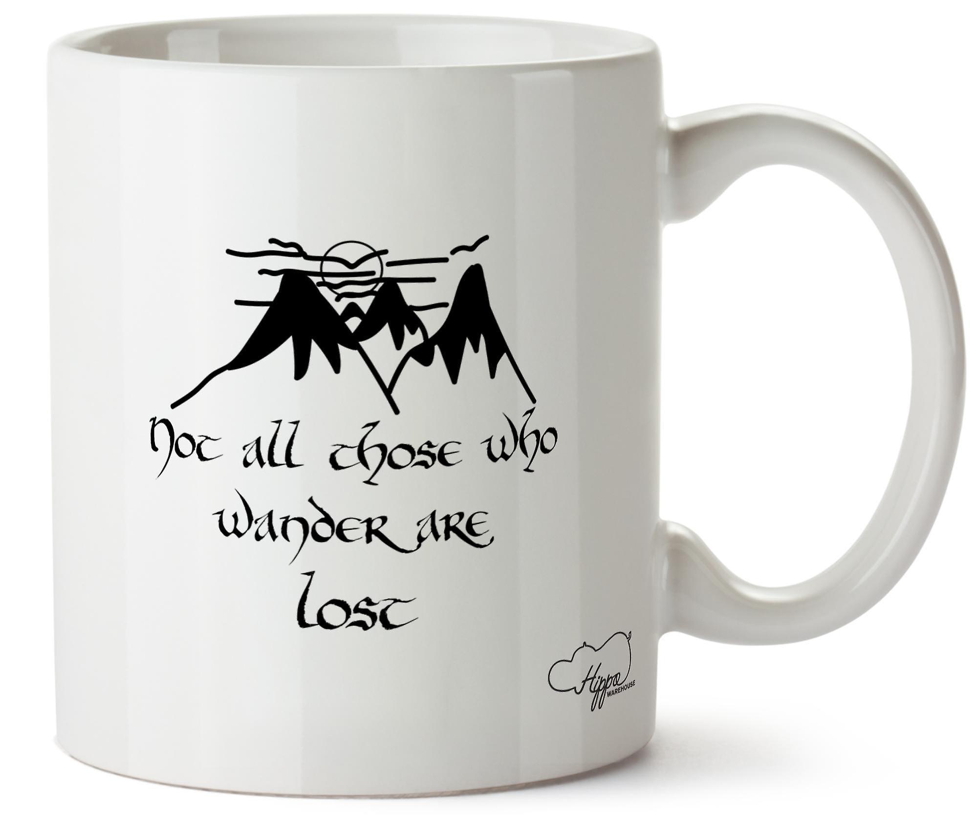 Cup Hippowarehouse Tous Ceux Tasse Cite 10 Qui Promener Pas Oz Se Perdues Sont I7vYbf6yg
