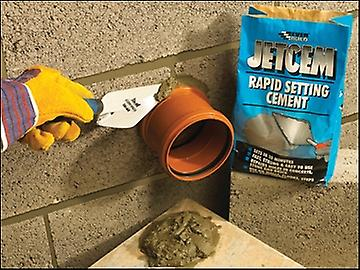 Everbuild Jetcem Rapid Set Cement 6kg  (Single 6kg Pack)