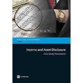 Inkomen en Asset openbaarmaking casestudy illustraties door Wereldbankgroep