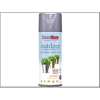 OUTDOOR METALLIC SPRAY 400ML NICKEL
