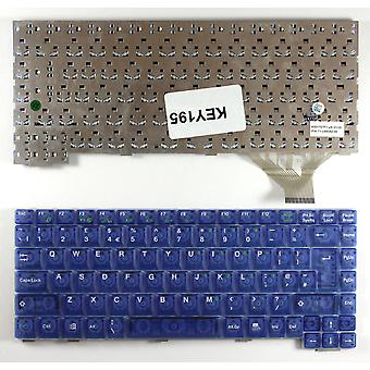 TsingHua Tongfang Unisplendour A6535 Blue UK Layout Replacement Laptop Keyboard