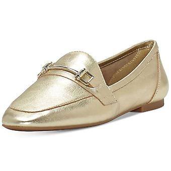 INC International Concepts Womens Oleena Leather Closed Toe Loafers